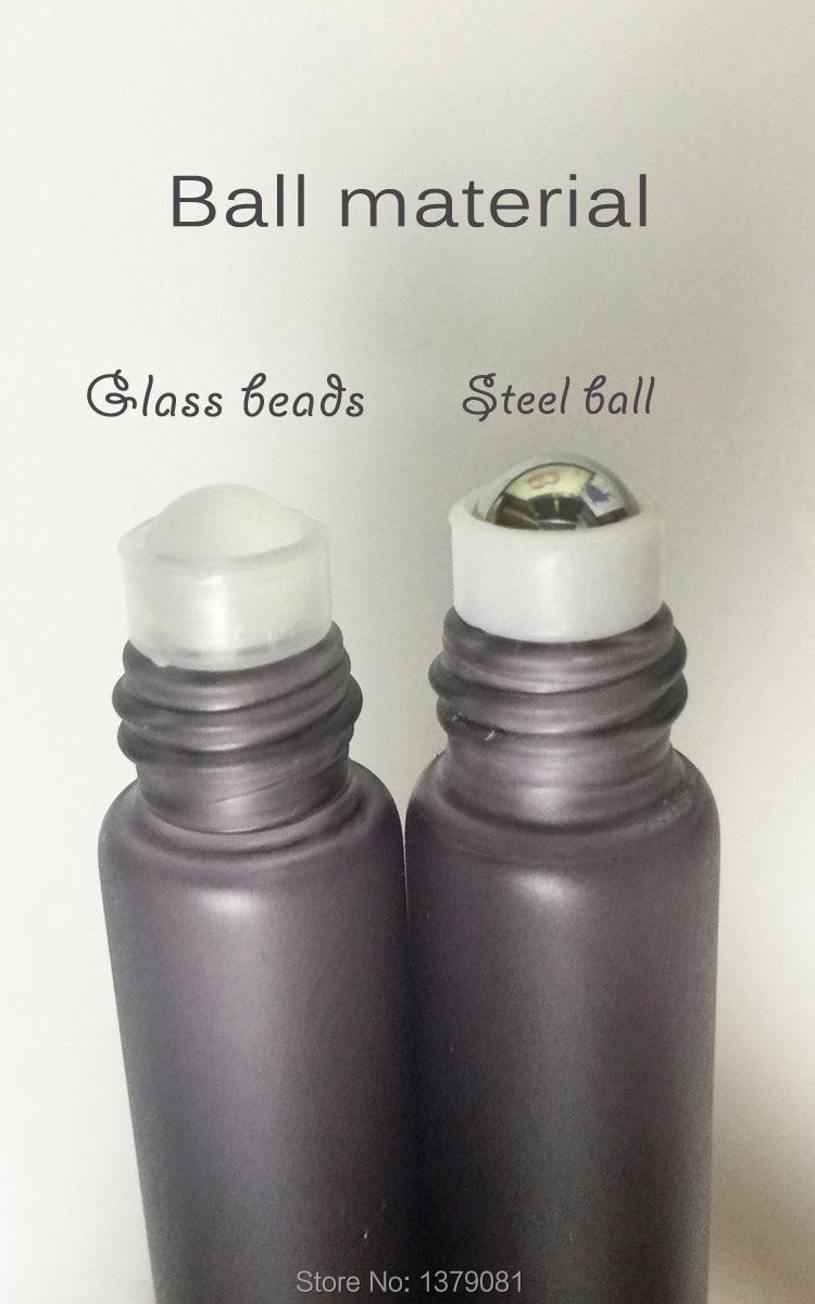 10 ml Glas Tinte Farbe Parfüm Roller Ball auf Flasche Glasperle, - Hautpflege-Werkzeug - Foto 6