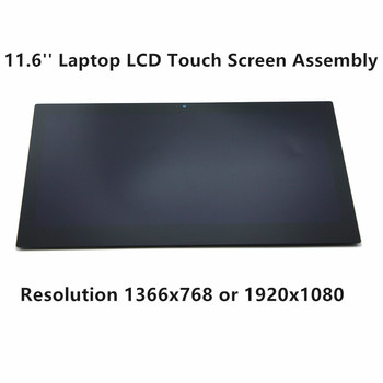 FTDLCD 11.6'' Laptop LCD Touch Screen Digitizer For Acer Aspire R3-131T-C62X R3-131T-C1YF R3-131T-P344 R3-131T-P73T фото