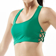 Professional Sports Bra Women Fitness Yoga Top Vest Gym Padded Push Up Workout Running Top Bra