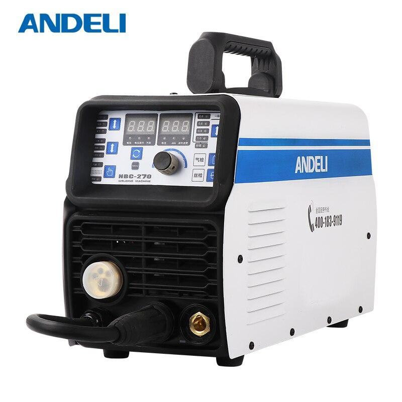ANDELI Portable Intelligent CO2 Mig Welder MIG-250 Multifunction MMA/MIG 2 IN 1 220V Mig Welding Machine