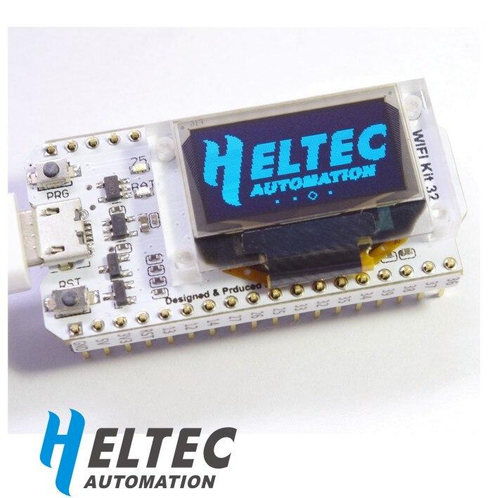 Carte de développement d'internet des objets puce ESP32 Kit WIFI OLED Bluetooth Non modulaire 32