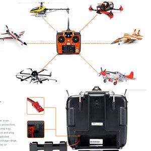 Image 2 - RadioLink AT10 השני 2.4Ghz 12CH משדר עם R12DS מקלט PRM 01 מתח להחזיר מודול סוללה עבור RC Quadcopter קבוע כנף
