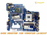 Original for Lenovo G490 G400 laptop motherboard G490 G400 HD8570M 1GB VIWGP GR LA 9631P tested good free shipping
