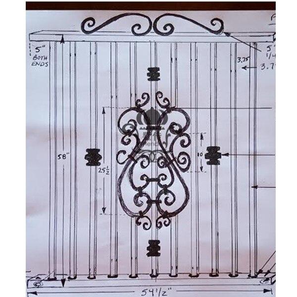Онлайн забор поставка забор строительные материалы низкая цена ограждение забор строительные материалы portalbe металлические забор панели