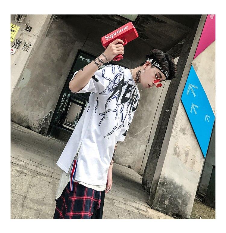 Graphic Tshirts Men Fashion Casual Short Sleeve   (3)