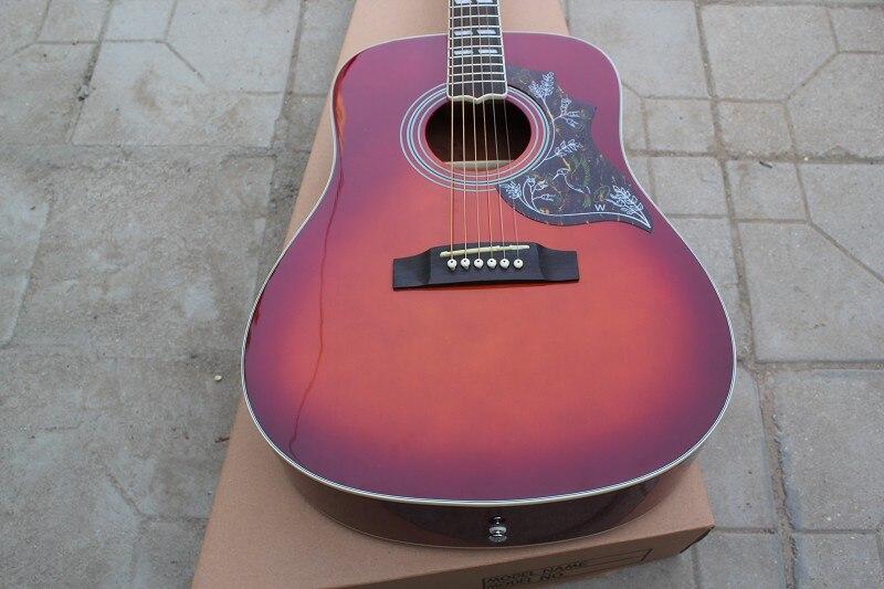 Livraison gratuite sunburst et naturel couleur solide guitare nouveau songwriter deluxe studio acoustique guitare acoustique guitare électrique
