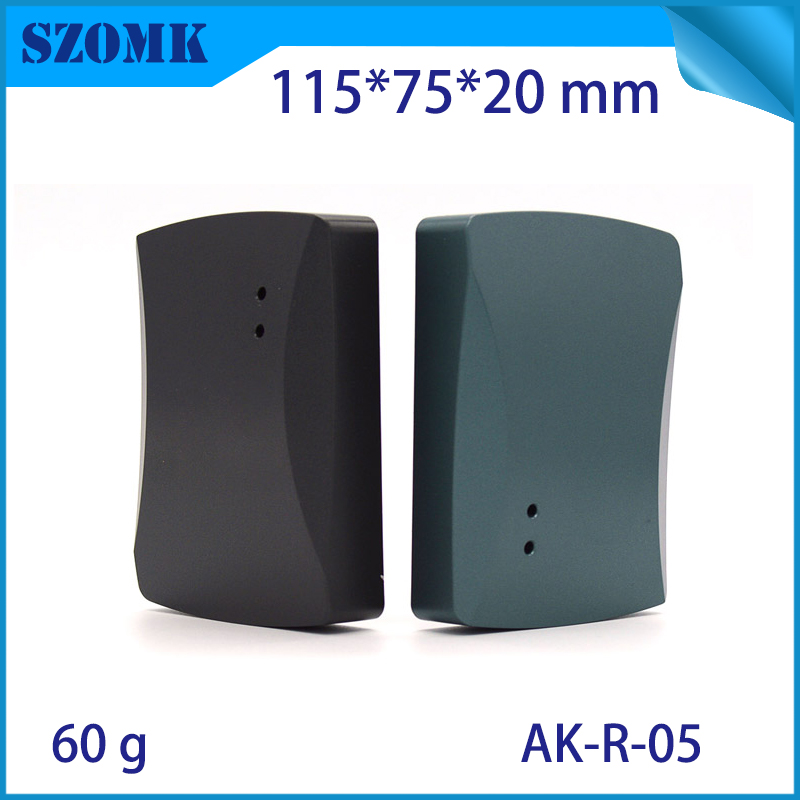 4 pcs, 115*75*20mm RFID plastic electronic housing card reader device enclosure access control plastic box electronics enclosure-in Connectors from Lights & Lighting
