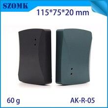 4 stücke, 115*75*20mm RFID kunststoff elektronische gehäuse kartenleser gerät gehäuse access control kunststoff box elektronik gehäuse