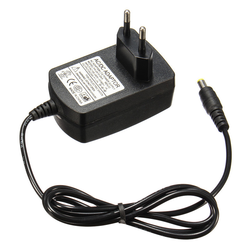 EU Plug AC 110-240V To DC 24V 1A Black Super Ultrasonic Mist Maker Plug Power Adapter Home Appliance Parts High Quailty