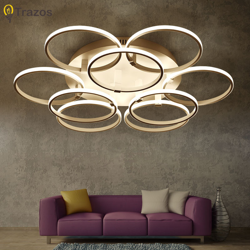 Modern Arrival LED Ceiling Lights Living room Bedroom Lustres Home Ceiling Lamp Acrylic Lamparas de techo LED Ceiling Lighting 38w modern led ceiling lights for living room acrylic stainless ceiling lamp lustre lamparas de techo bar home lighting