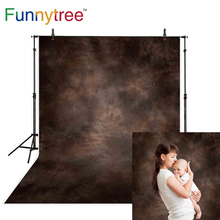 Funnytree fotografia backdrops photography solid color dark brown old master abstract backgrounds for photo studio photophone