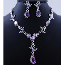 Free shipping Wholesale luxury fashion vintage statement jewelry sets necklace earrings  bridal