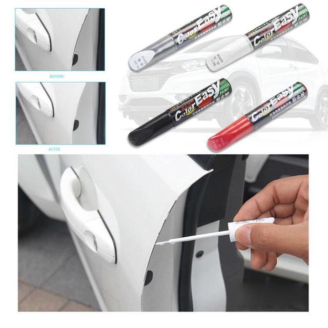 Stylo de réparation de rayure de voiture de 4 couleurs fixez-le Pro entretien de peinture outils d'entretien de voiture