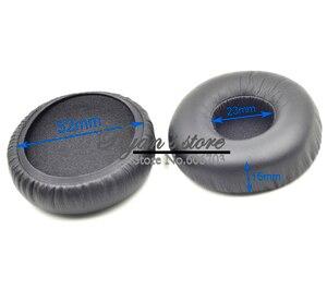 Image 4 - Defean kulaklık parçaları sıcak satış 52mm siyah beyaz yükseltme yastık kulak pedleri akg K412P K414P K416P K24P K26p k27i k450 k420 430