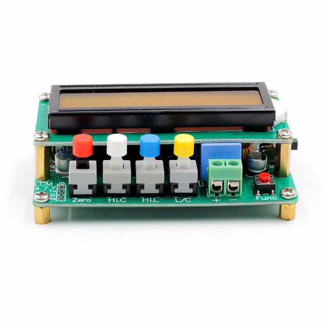 Capacitance and inductance tester 3