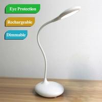 Flexible 3W 16 Leds Mini Led Desk Lamp Dimmable Rechargeable Battery Led Desk Light Lamparas De