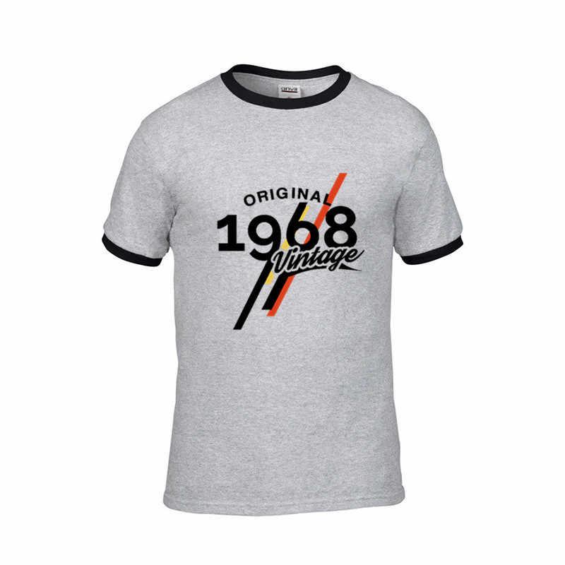 2019 ヴィンテージ 1968 古典的な 50 歳の誕生日 tシャツメンズ 50th 誕生日 Tシャツ父の日現在の快適なギフトの tシャツ