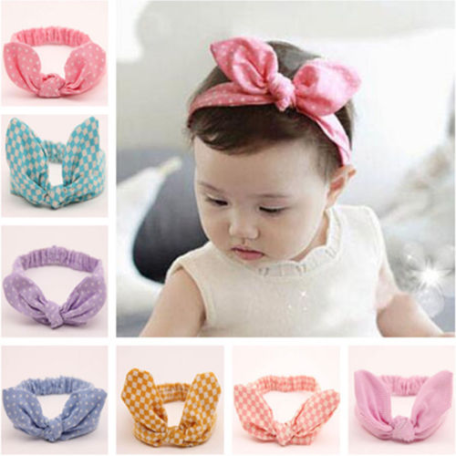 2018 Cute Flower Toddler Infant Kids Baby Girls Headband Bow-knot Hair Band Accessories Baby Headwear