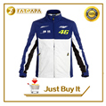 New Mens Fashion Sports Motorcycle Brand Windproof Sweater Jacket fit for  MOTO GP Rossi VR 46 Yamaha Honda T Shirt
