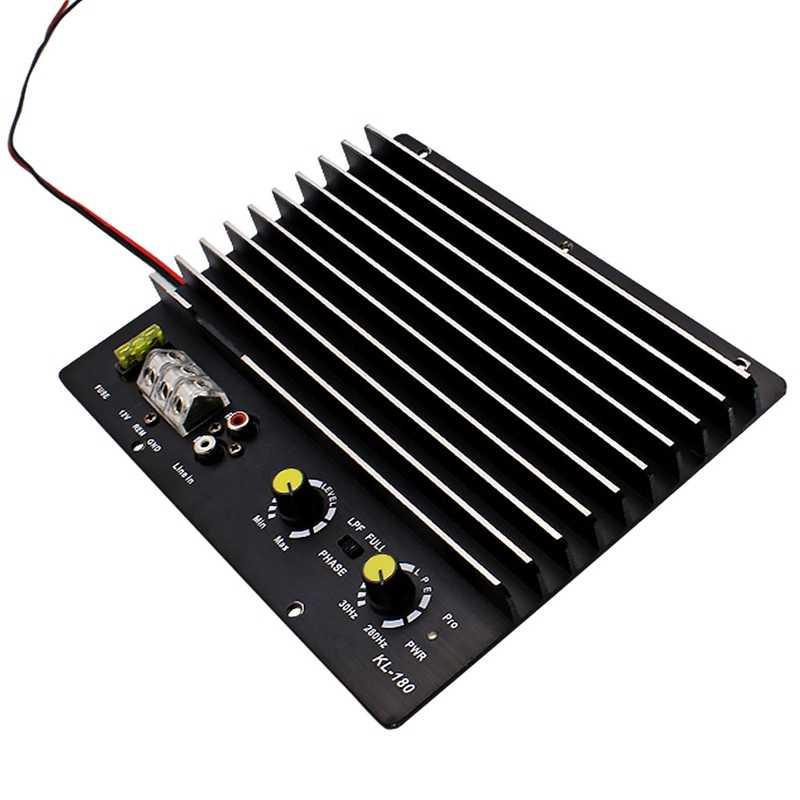 1200 Вт автомобильный аудио усилитель мощности Сабвуфер Усилитель мощности доска аудио Diy усилитель доска Автомобильный плеер Kl-180