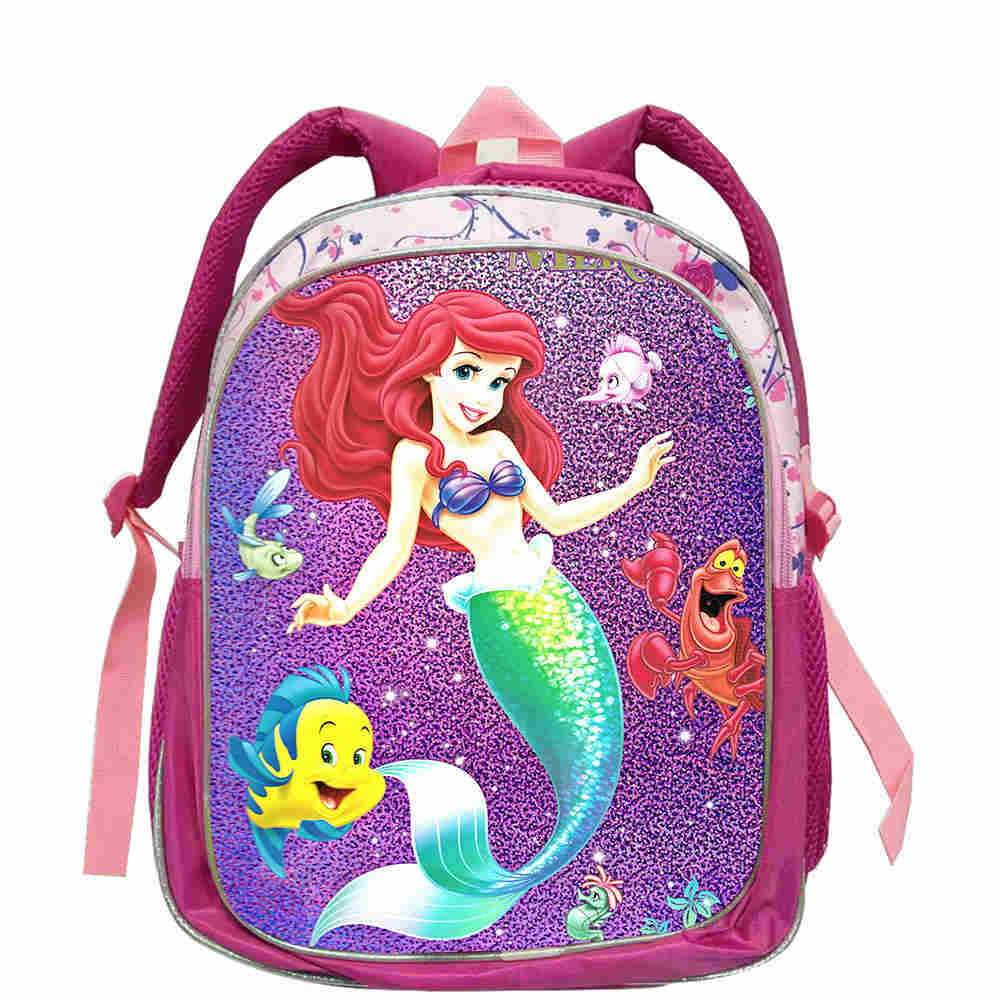 Little Mermaid Ariel Princess Backpack Children School Bag Schoolbag Kindergarten Preschool Elementary School Backpacks For Girl