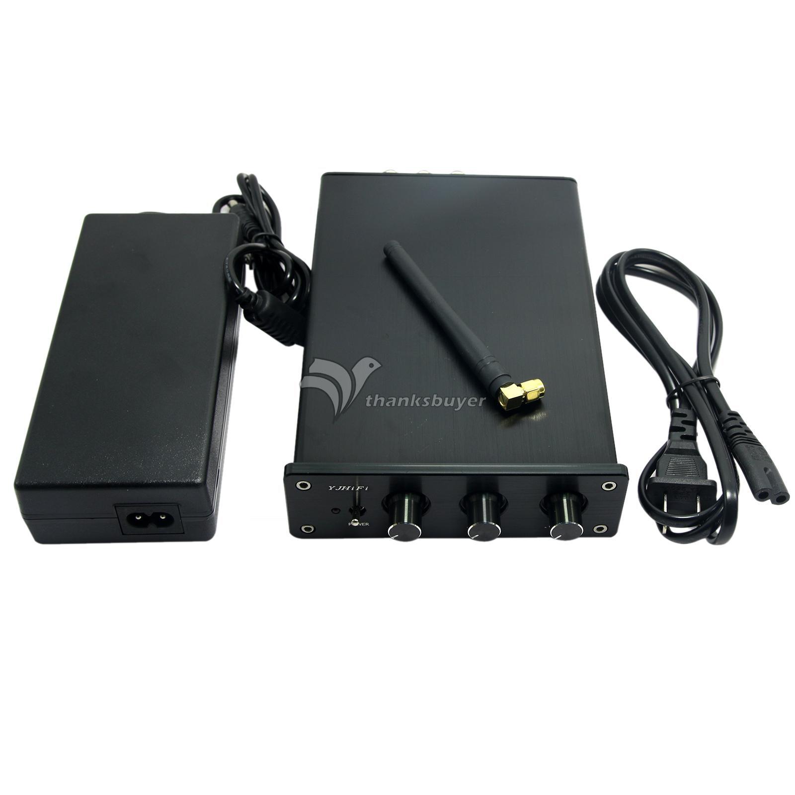 VJHiFi TPA3116 2.1+ CSR4.0 Bluetooth 4.0 Module Digital Amplifier Board with Case Power Supply lson mini amplifier module board red