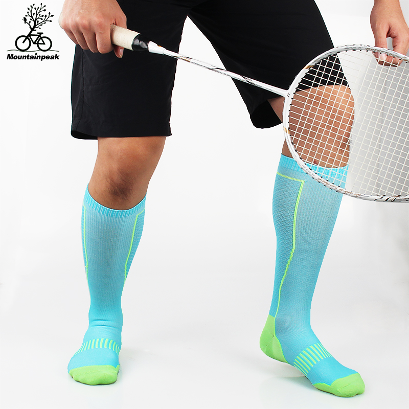 4 Colours MTP Sports Socks Men and Women Riding Running Marathon Football Badminton Socks Breathable Compression Stocking