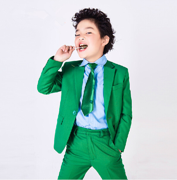 New style boy spring summer suit, pure color one handsome boy suit ...