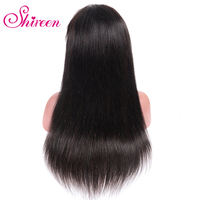 Shireen Straight Lace Front Human Hair Wigs For Black Women Weave Black Human Hair Wigs Straight Wigs With Short Remy Baby Hair