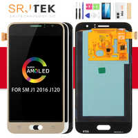 AMOLED/TFT pour Samsung Galaxy J1 2016 affichage J120 LCD tactile numériseur capteur verre J120F écran LCD J120H J120 écran J120M