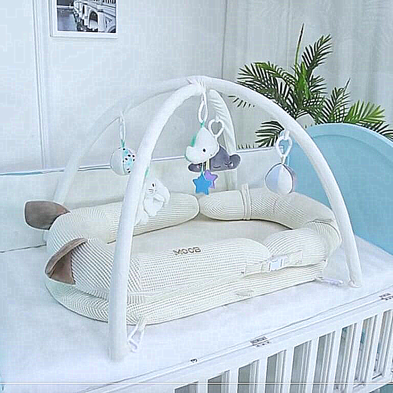 Portable Removable And Washable Crib Travel Bed For Children Infant Kids Cotton Cradle Baby Nest Bed Crib Dropshipping