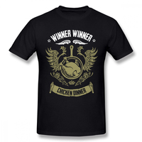 WINNER CHICKEN DINNER T shirt For Men Plus Size Cotton Team Tee Shirt 4XL 5XL 6XL Camiseta