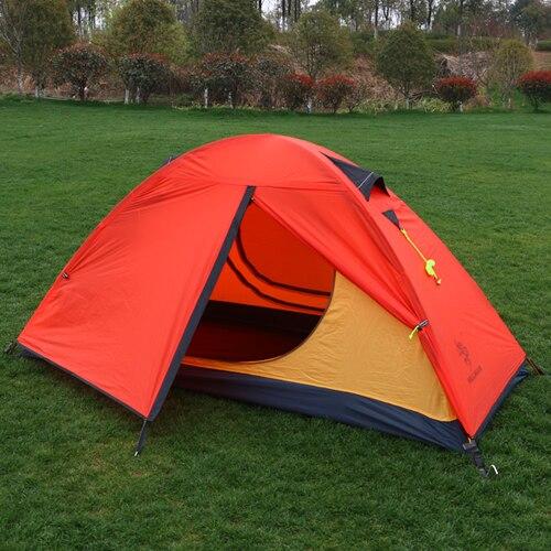 2018 Ultralight aluminum poles waterproof anti UV 4 season tents high quality outdoor camping tent
