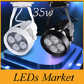 35W clothing stores led spotlights par30 track light rail alternative 70-watt metal halide lamp AC 110-240V CE UL SAA