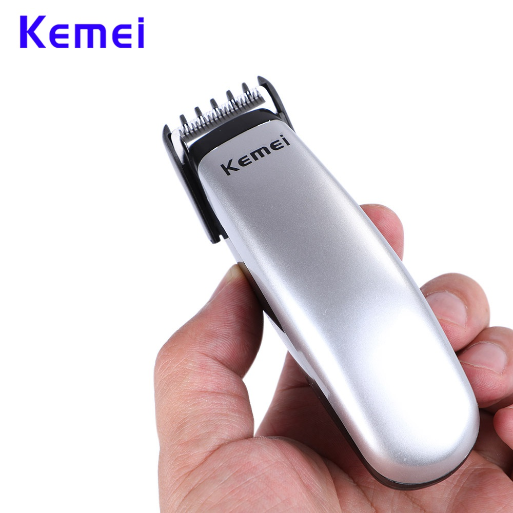 Kemei KM-666 Design Battery Hair Clipper Mini Hair Trimmer Cutting Machine Female Beard Barber Razor For Men Style Tools