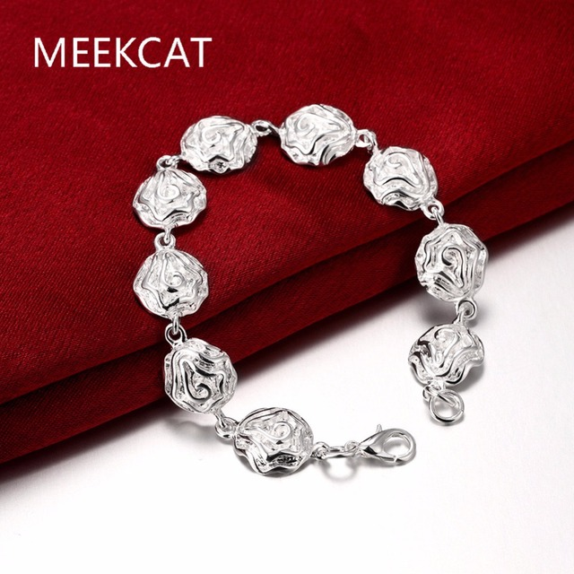 Wholesale Snap BraceletBangles Newest Design Chain Antique Silver