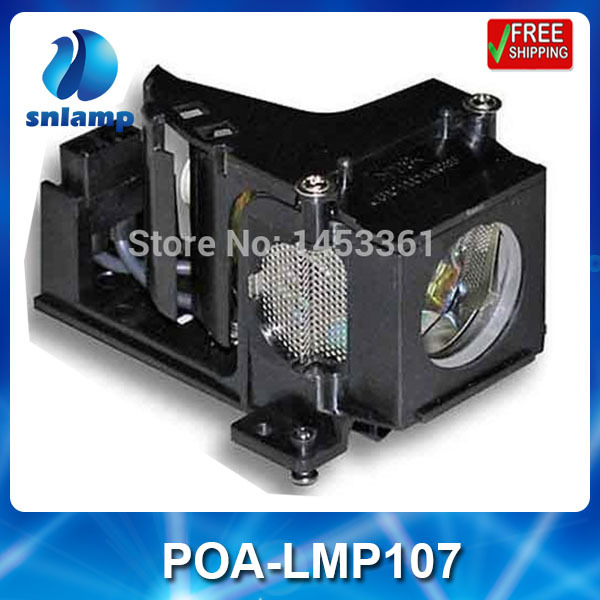Replacement projector lamp bulb POA LMP107 610 330 4564 for PLC XE32 PLC XW55 PLC XW55A