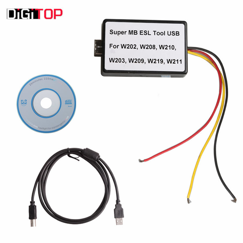 Prix pour Super MB ESL USB Outil pour W202/W208/W210/W203/W209/W219/W211