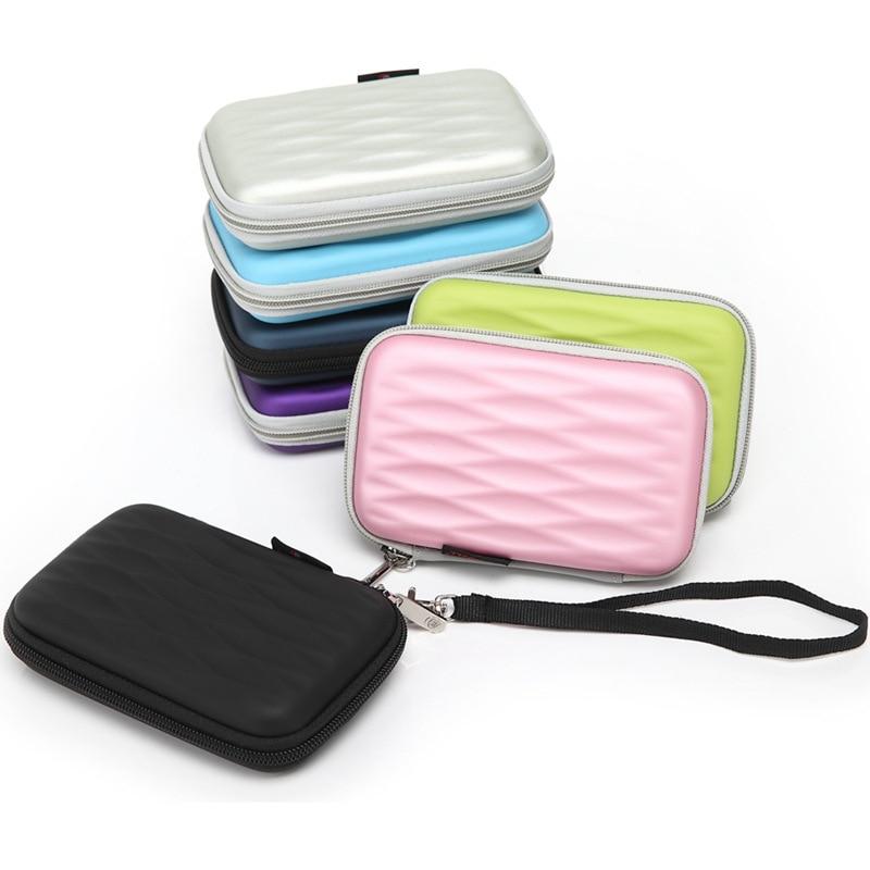 New for WD/Seagate/Samsung/Toshiba EVA waterproof shockproof mobile hard disk bag 2.5 inch digital mobile bag containing bag ...