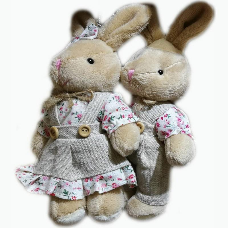 alta qualidade super bonito casal ursos de pelcia em saia de pelcia brinquedos de pelcia bonecas par cm urso de pelcia
