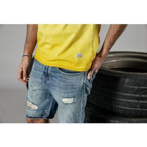 Image 3 - SIMWOOD 2020 yaz yeni t gömlek erkekler vintage % 100% pamuk moda mektubu baskı t shirt yüksek kalite üstleri marka giyim 190196