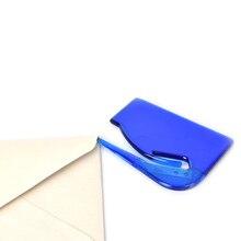 1 шт. мини-пластиковый прочный нож для открывания букв бумажный почтовый нож для разрезания конвертов офисное оборудование Поставки безопасное лезвие