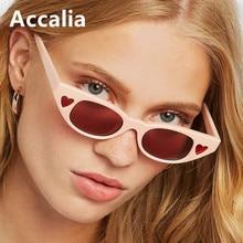 2019 Luxury Brand Heart Sunglasses Women Cat Eye Female Small Sun Glasses for Ladies High Quality Designer Eyewear Gothic
