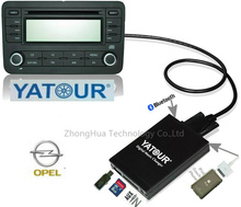 Yatour YTM07 Digital Music CD Changer USB SD AUX Bluetooth  ipod iphone  interface for Opel Vauxhall Holden 2006-2010 MP3 Plyer