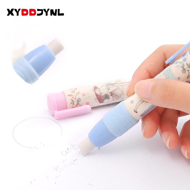 1 Pc Cute Kawaii Cartoon Rubber Eraser For Kids Student Drawing Painting Novelty Item Gift School Supplies