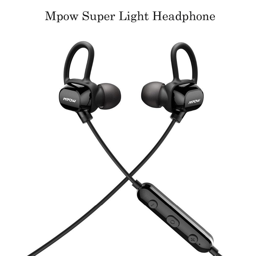 Mpow headphone IPX4-rated sweatproof stereo bluetooth headphones wireless sports earphones with MIC for iPhone Android Phone picun p3 hifi headphones bluetooth v4 1 wireless sports earphones stereo with mic for apple ipod asus ipads nano airpods itouch4