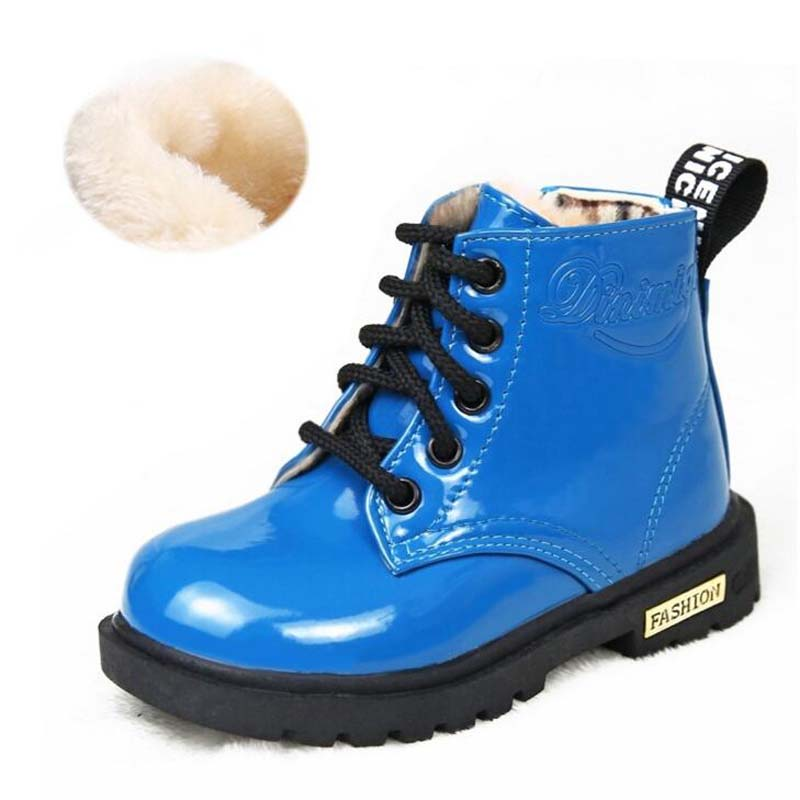 Waterproof Solid Jelly Color Martin Boots 1
