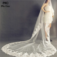 Amazing High End New 3M Cathedral Long Wedding Veils Special Special Bridal Veil Wedding Accessories Bride Wedding Veil
