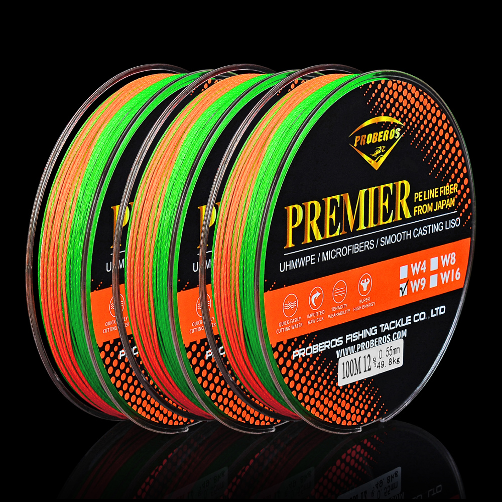Professional Nylon Fishing Line Durable Clear Color Fishing Lines 100m//110yd C