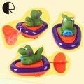 Новое Поступление Ветер До Игрушки Для Купания 2017 Симпатичные Коробки Животных Детские Игрушки Для Купания Плавание Динозавр Пингвин Водные Игрушки brinquedos HT3340